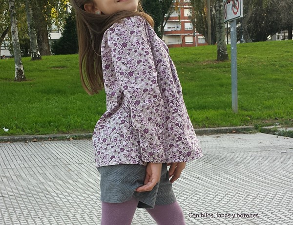 Con hilos, lanas y botones: Blusón MARLOW - Intemporels pour enfants