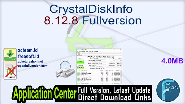 CrystalDiskInfo 8.12.8 Fullversion