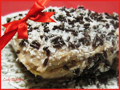 hiperica di lady boheme blog di cucina, ricette facili e veloci. Ricetta tiramisù con mascarpone, cocco e nutella