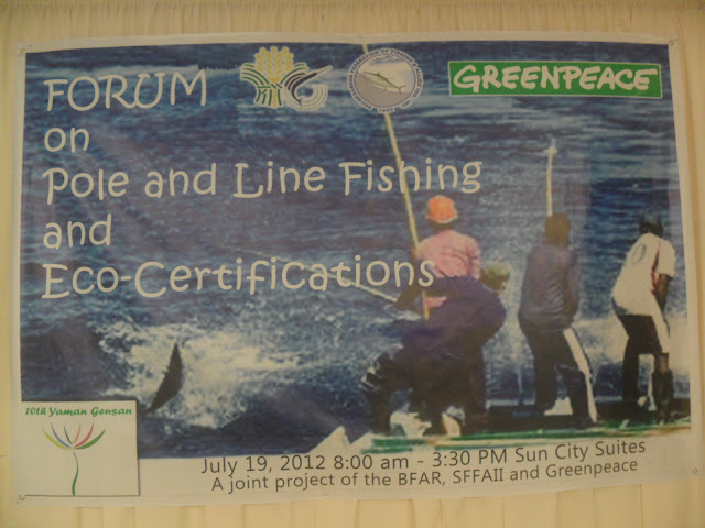 Forum on Pole and Line Fishing and Eco- Certification