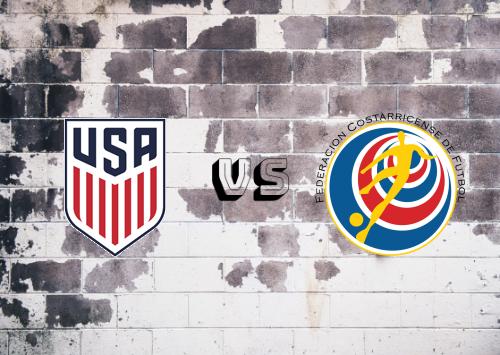 Estados Unidos vs Costa Rica  Resumen y Partido Completo