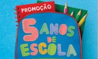Promoção 5 Anos de Escola Milnutri promocaomilnutri.com.br