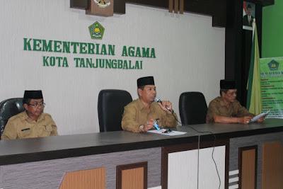 Kemenag Tanjungbalai Gelar Rapat Persiapan Pameran Jelang MTQ