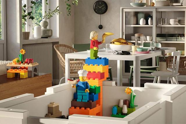 Bygglek gioco per mattoncini lego
