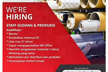 Loker Bandung Staff Gudang & Produksi Umama