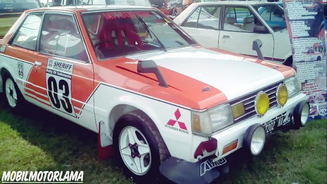 Custom Mitsubishi Lancer SL Rally depan