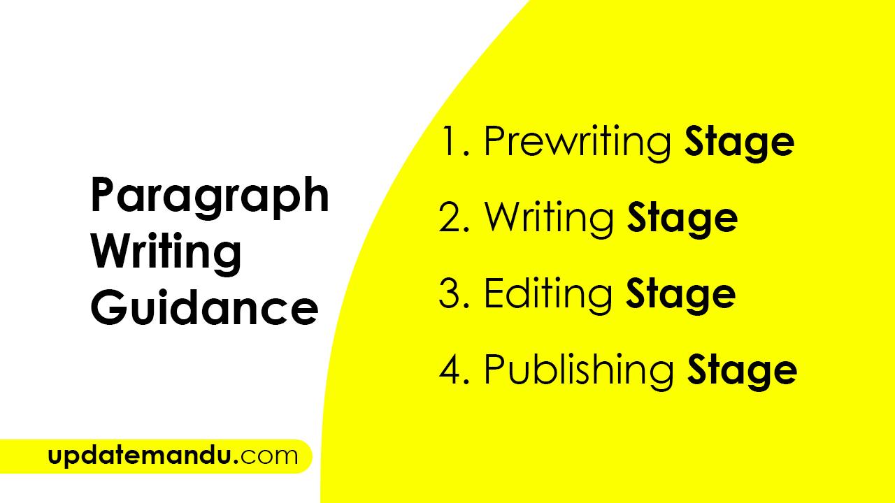 Major Ways of Paragraph Writing | Paragraph Writing Guidance