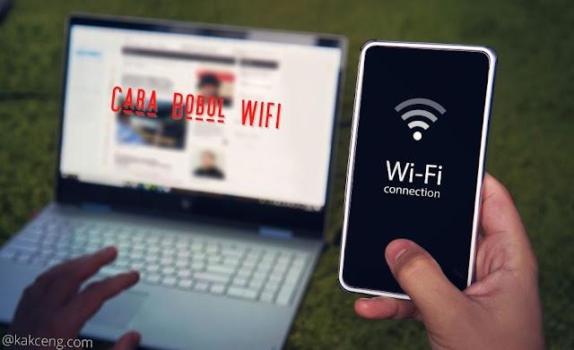 cara bobol wifi
