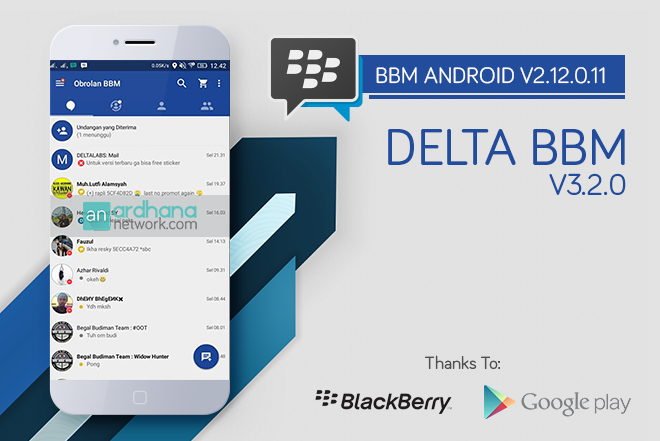 Delta BBM V3.2.0 - BBM Android V2.12.0.11