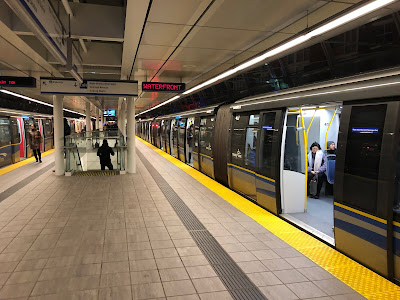 SkyTrain at Main Street Station