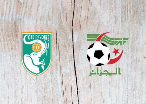 Ivory Coast vs Algeria -Highlights 11 July 2019