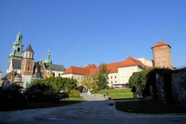 Weekend break in Krakow Poland: Wawel Hill
