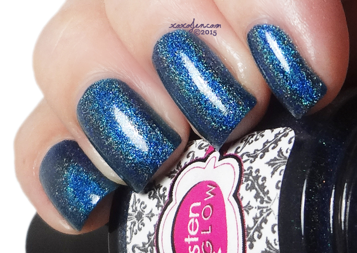 xoxoJen's swatch of Glisten & Glow Single and Ready to Mingle