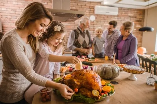 Tips for surviving Thanksgiving in one jean size