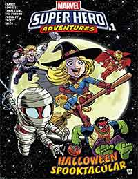 Marvel Super Hero Adventures: Captain Marvel - Halloween Spooktacular