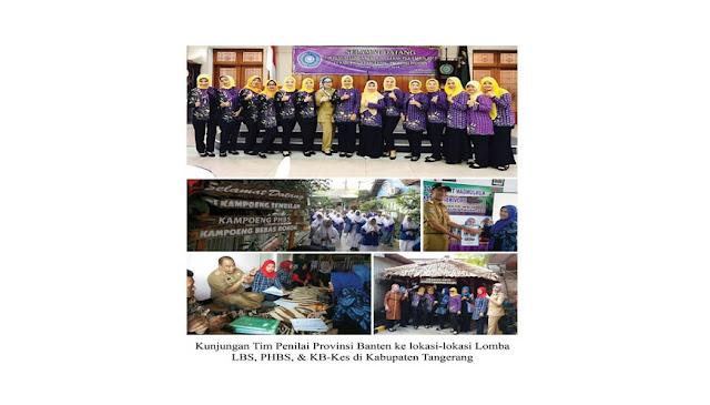 Kabupaten Tangerang Juara LBS, PHBS, & KB-Kes Provinsi Banten