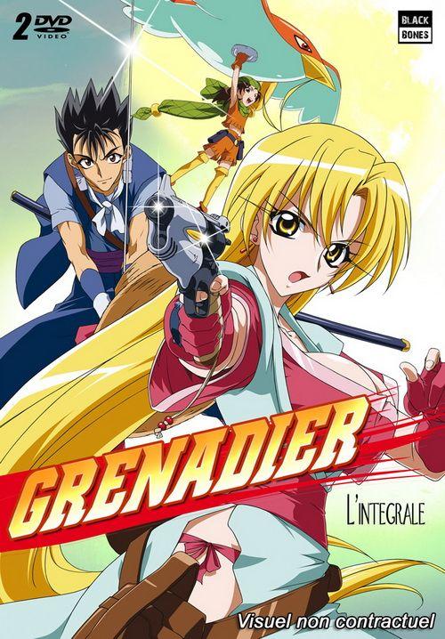 Nữ chiến binh xinh đẹp -Grenadier: Hohoemi no Senshi