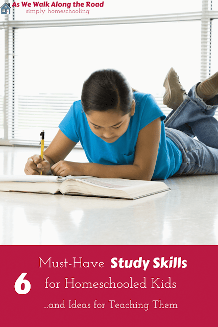 Study skills for homeschooled kids