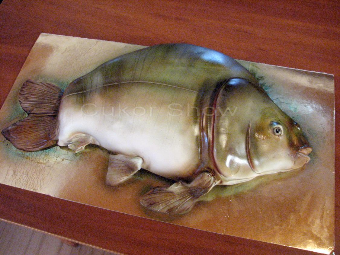 hal alakú torta képek Kricky konyhája: Cukor Show Deszk /beszámoló 1. rész hal alakú torta képek