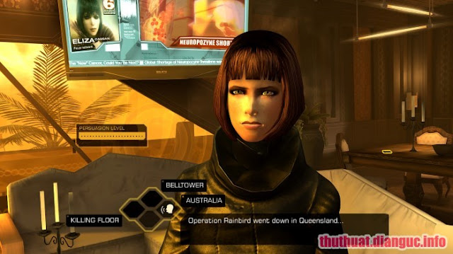 Game Deus Ex The Fall - RELOADED full download