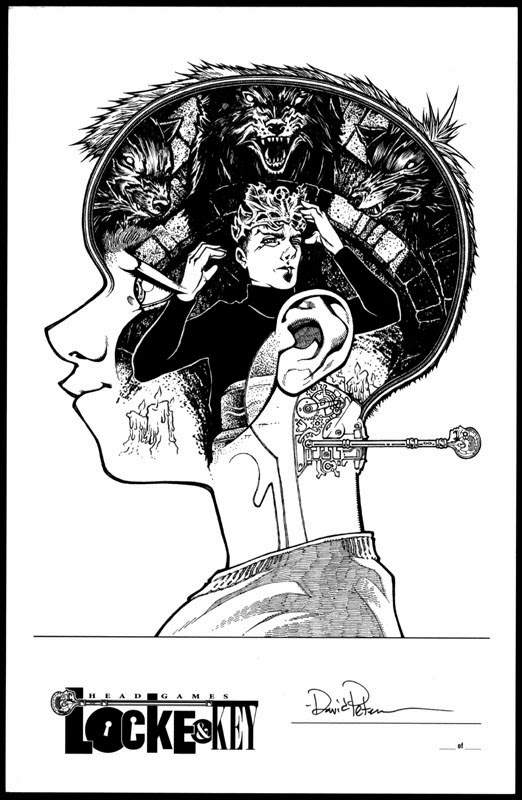 David Petersen's Blog: Locke & Key Head Games limited ed