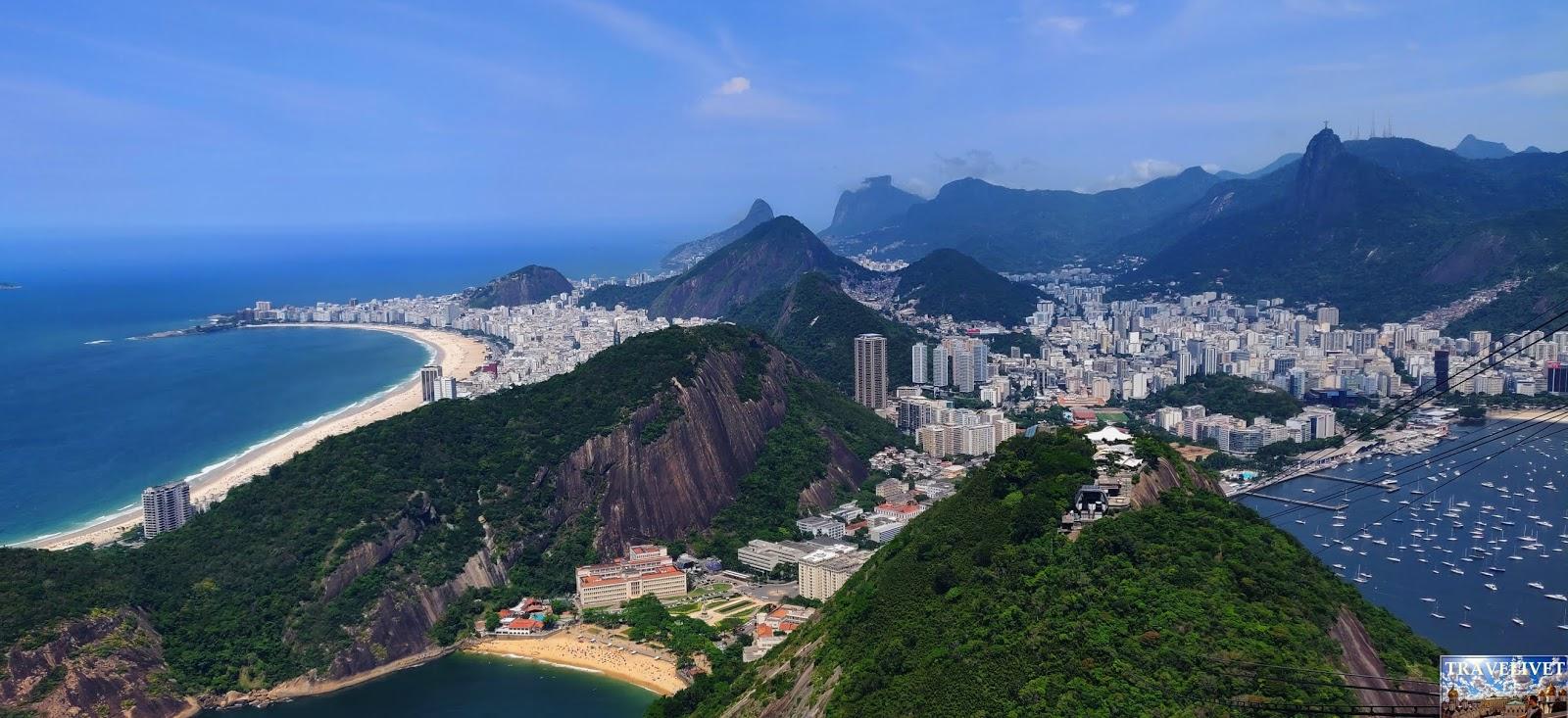 Brésil Rio de Janeiro Pain de Sucre Panorama