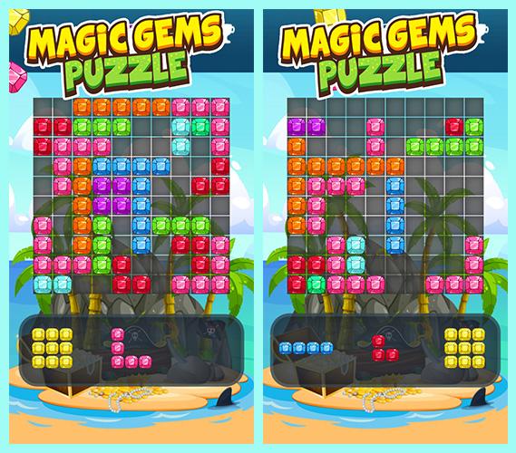 Introduction: Magic Gems Puzzle Game