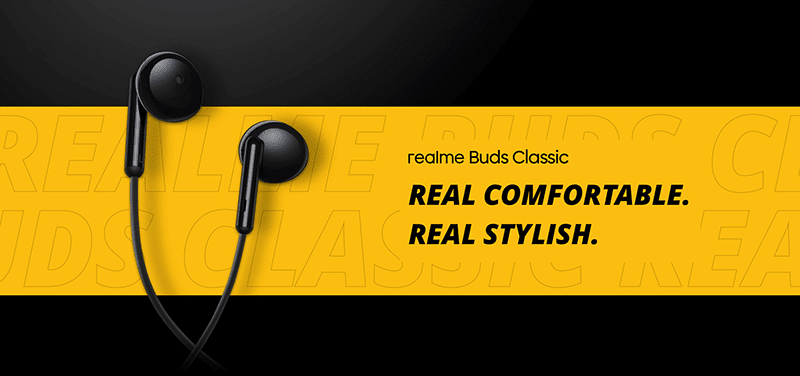 realme Buds Classic budget earphones with large 14.2mm driver announced