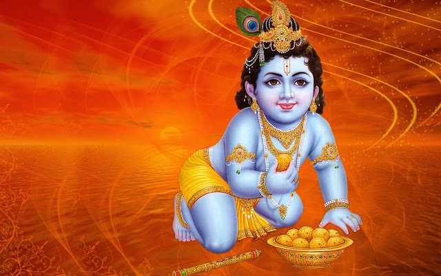HD Images of Krishna Janmasthami, 3D Animated Wallpapers Gif Images And Photos