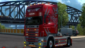 Scania 4 TJC Skin