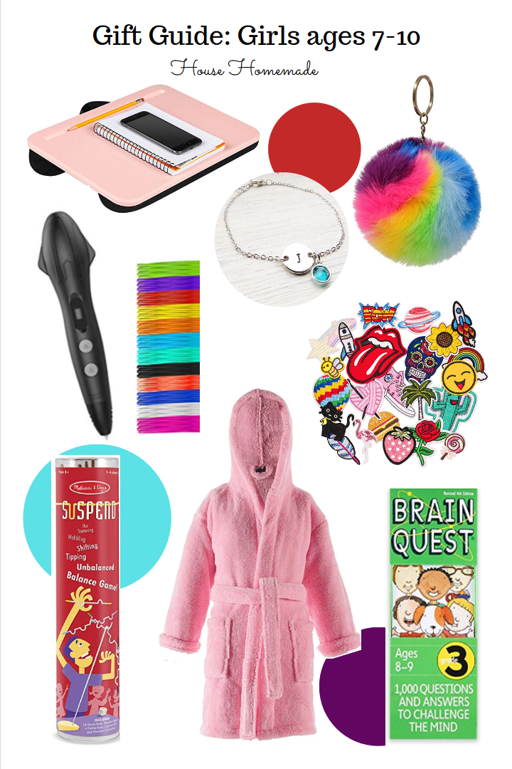 Gift Guide: Girls ages 7-10