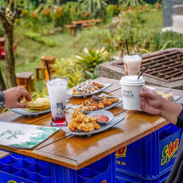 Menu di Warung Plosok Bogor