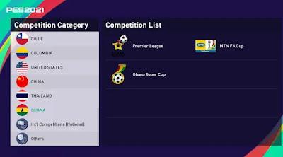 Ghanaian league pes21 sp21