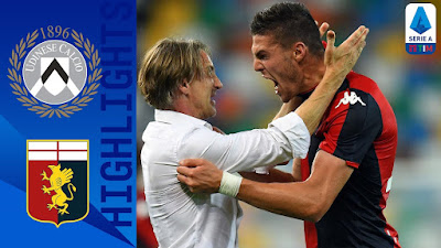 Video Udinese 2-2 Genoa: Vòng 30, VĐQG Italia