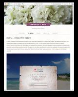Marketing Writer web site