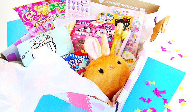 Kawaii Box, cute gift idea, subscription box