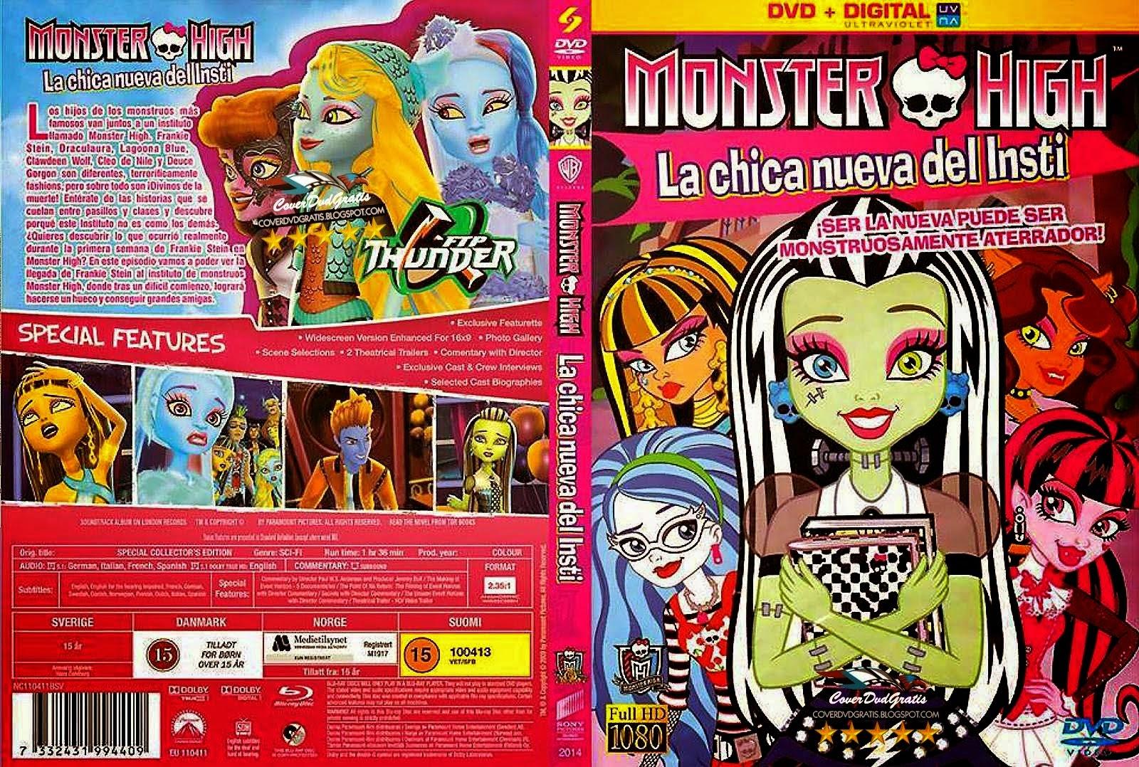 monster high la chica nueva del insti