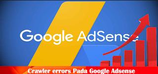 Kesalahan Crawler Google Adsense Kesalahan Masalah URL: Halaman Tidak Ditemukan