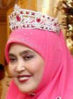 ruby tiara queen saleha brunei
