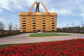 Bangunan Bentuk Keranjang - Ohio USA