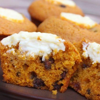 Ooze-Filled Pumpkin Cupcakes