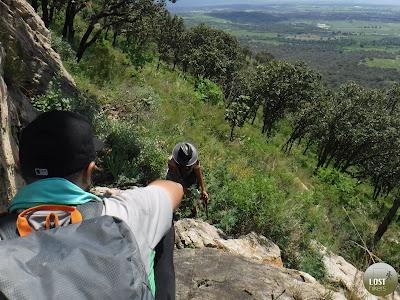 El Cerro los Bailadores es una fortaleza