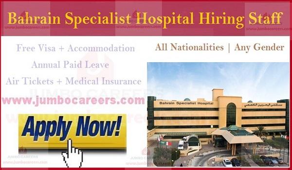 Bahrain Specialist Hospital Careers | Nurses jobs in Bahrain 2021