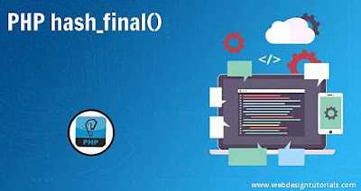 PHP hash_final() Function