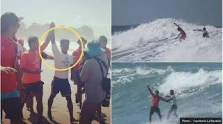Lupakan Emas !! Peselancar Tuan Rumah Selamatkan Atlet Indonesia yang Hampir Tenggelam, Begini Kronologinya