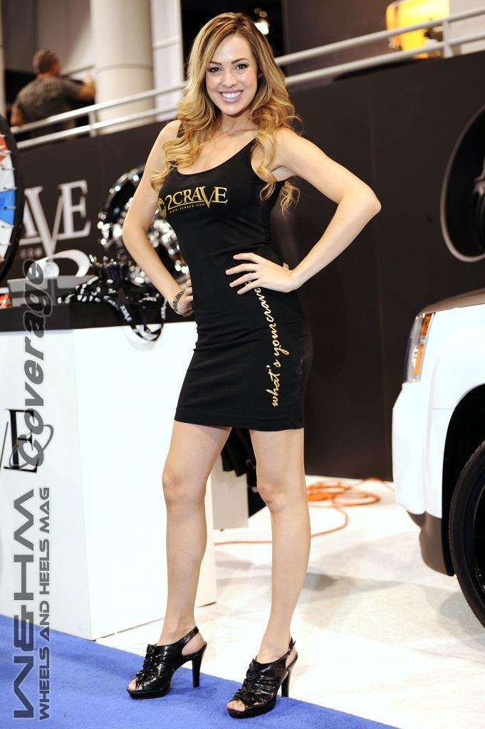 Sema Show Las Vegas >> W&HM / Wheels And Heels Magazine: Harmony Moniz, Arley