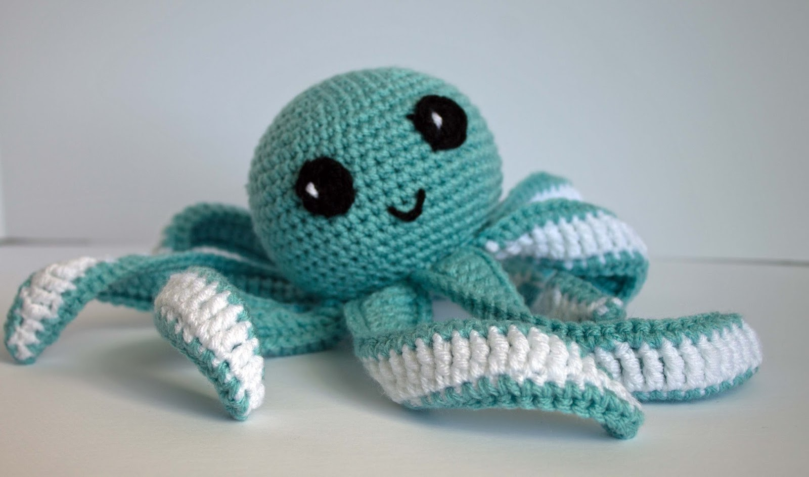 Amigurumi Octopus Baby Toy Free Pattern Part 2 - The Friendly Red Fox
