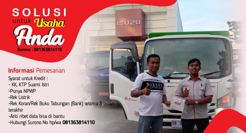 informasi pemesanan izuzu traga pekanbaru dan duri