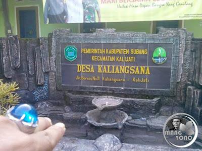 FOTO 1 : Desa Kaliangsana, Kecamatan Kalijati. Foto by Mang Yayat Ruhiyat