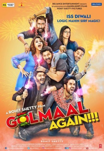 Golmaal Again 2017 Hindi 720p BluRay 1.1GB